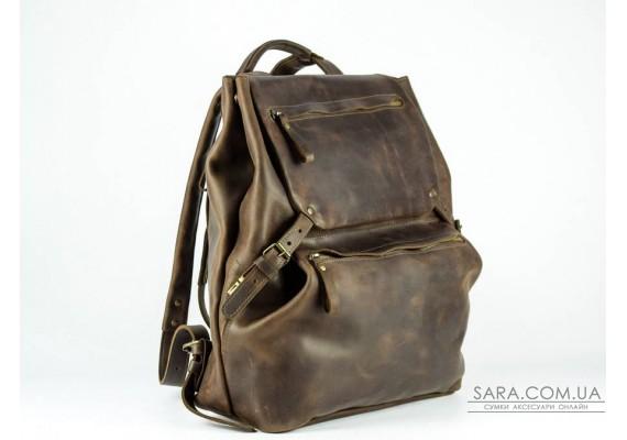 """Рюкзак шкіряний Trip Brown """"L"""" 934051 Babak"""