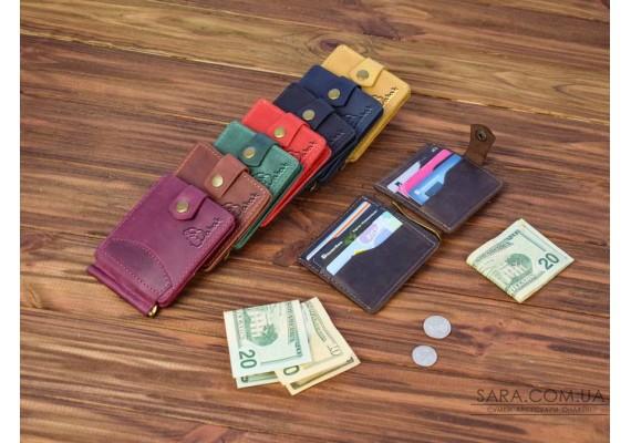 Шкіряний затискач для грошей 110 110 Babak