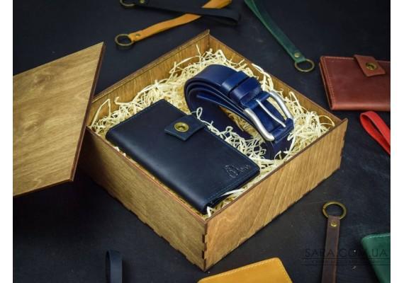 Набор кожаных аксессуаров Belt 4 1012 Babak
