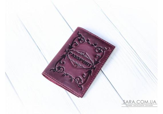 Обкладинка для паспорта шкіряна 1040 Babak