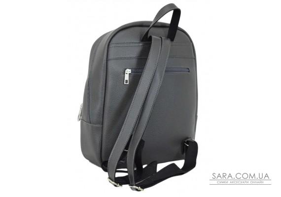 658 рюкзак сірий Lucherino