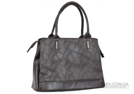 627 сумка пітон коричнева Lucherino