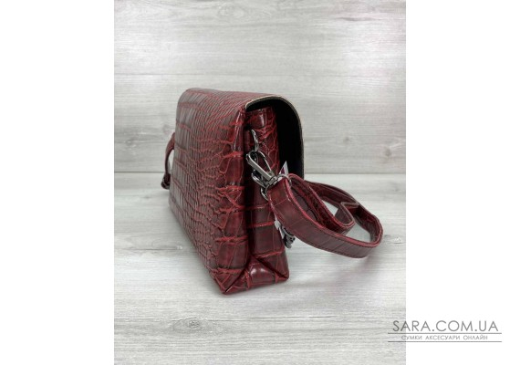 Жіноча сумка клатч «Келли» красная WeLassie