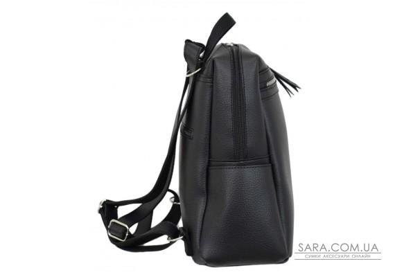 656 сумка-рюкзак черный Lucherino