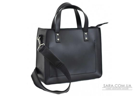 630 сумка замш черная г Lucherino