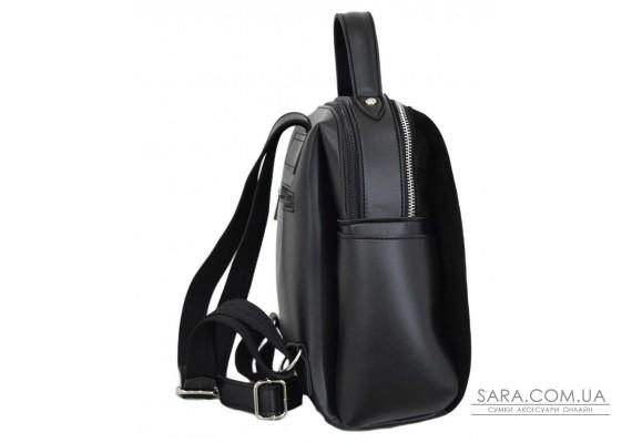 660 рюкзак замш черный Lucherino