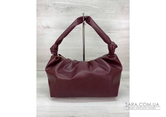 Женская сумка «Самира» бордовая WeLassie