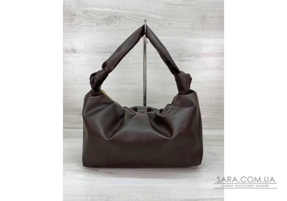 Женская сумка «Самира» шоколадная WeLassie