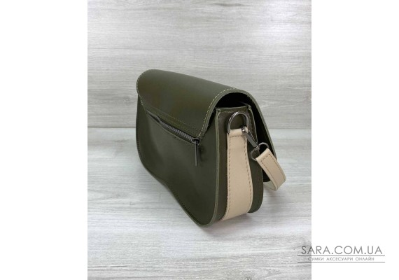 Жіноча сумка «Miranda» оливкова WeLassie
