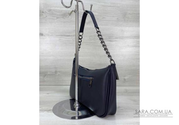 Жіноча сумка «Луна» темно синя WeLassie