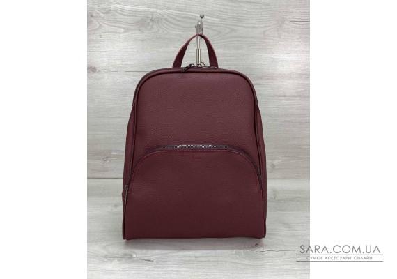 Жіночий рюкзак «Дін» бордовий WeLassie