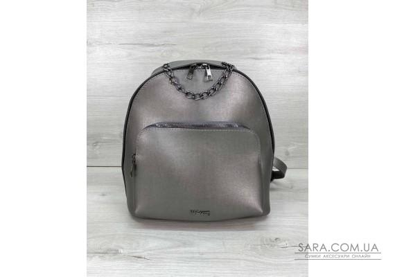 Женский рюкзак «Андрес» металлик WeLassie