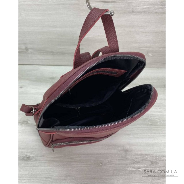 Жіночий рюкзак «Дін» бордовий WeLassie дешево