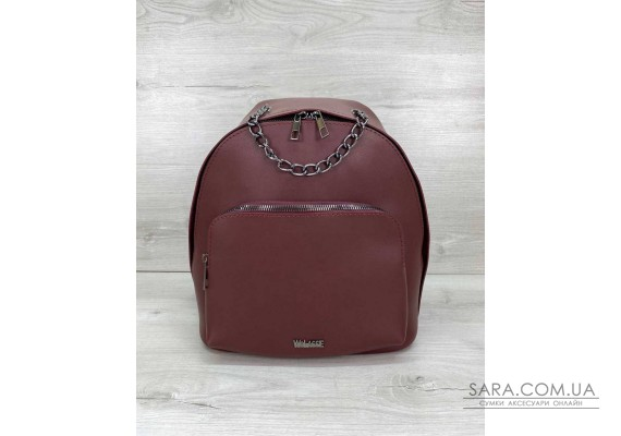 Женский рюкзак «Андрес» бордовый WeLassie
