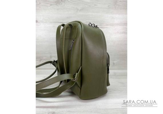 Женский рюкзак «Андрес» оливковый WeLassie