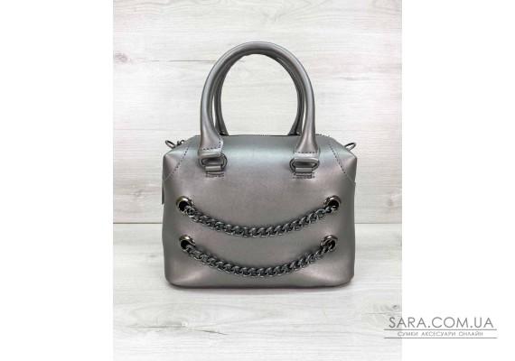 Женская сумка «Jean» металлик WeLassie