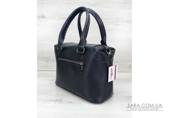 Женская сумка «Jean» черная WeLassie