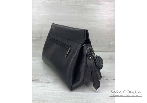 Жіноча сумка «Paris» чорна WeLassie