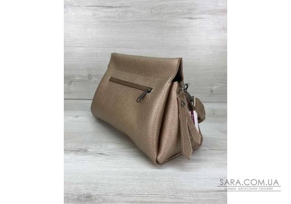 Жіноча сумка «Paris» золота WeLassie
