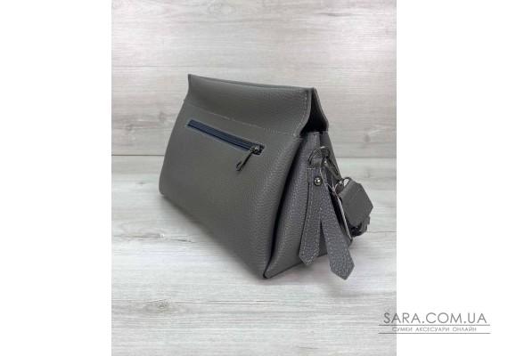 Жіноча сумка «Paris» сіра WeLassie