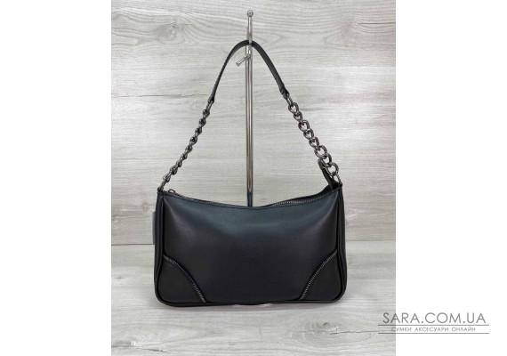 Жіноча сумка «Луна» чорна WeLassie