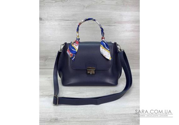 Жіноча сумка клатч «Ліам» темно-синій WeLassie