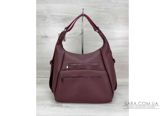 Женский сумка рюкзак «Голди» бордовый WeLassie