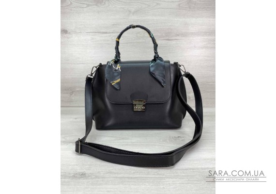 Женская сумка клатч «Лиам» черная WeLassie