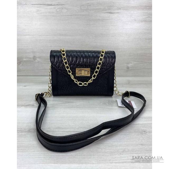 Жіноча сумка «Бэсс» чорна WeLassie дешево