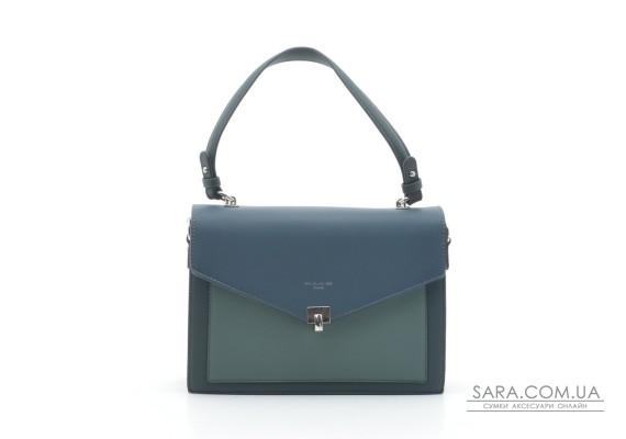 Женская сумка-клатч David Jones 6409-2T d.green