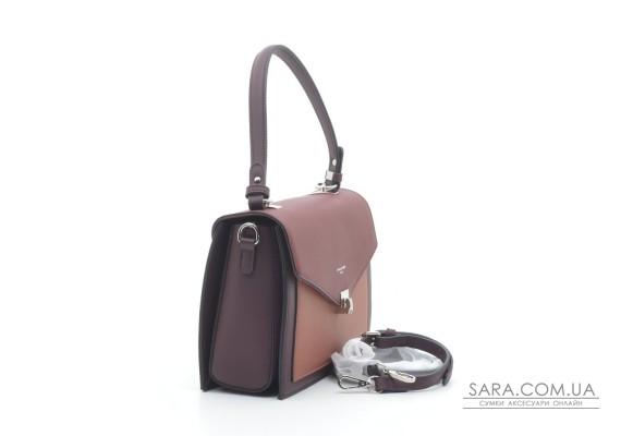 Женская сумка-клатч David Jones 6409-2T d.bordeaux