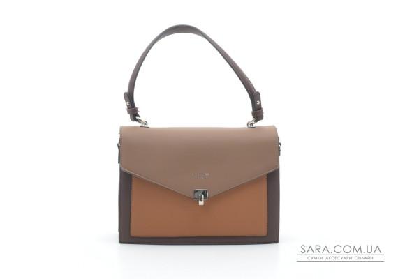 Женская сумка-клатч David Jones 6409-2T d.brown