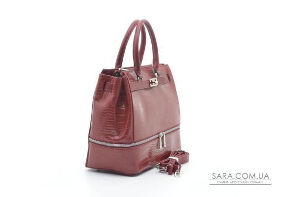 Жіноча сумка David Jones 6421-2T dark red
