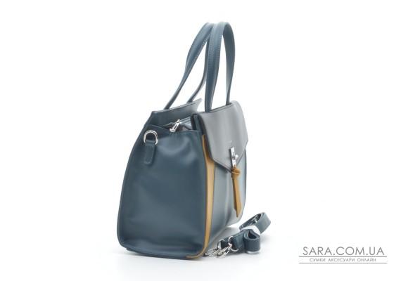 Женская сумка David Jones 6410-2T peacock blue