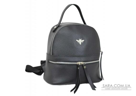653 рюкзак черный ф Lucherino
