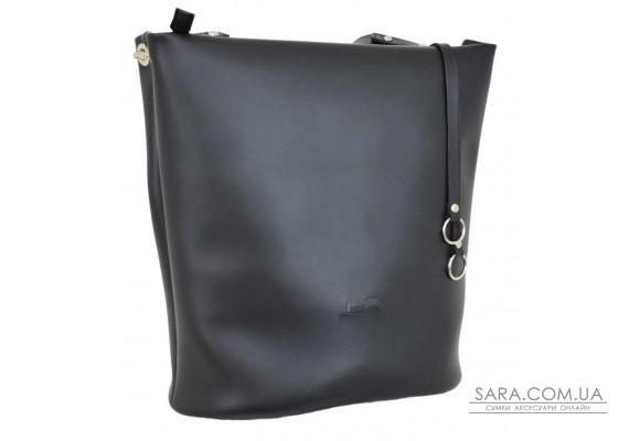 661 сумка чорна г Lucherino