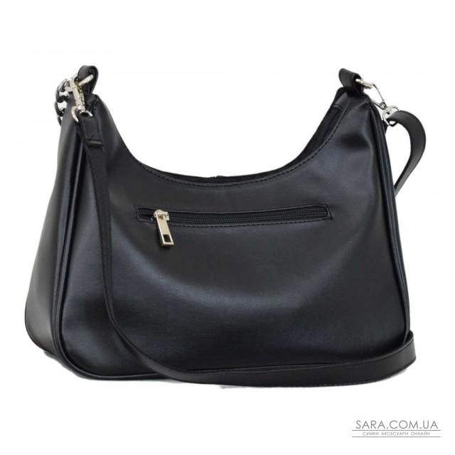 Купити 663 сумка замш чорна Lucherino дешево. Україна