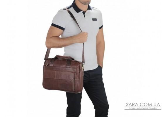 Кожаная сумка для ноутбука мужская Bexhill Bx1131B