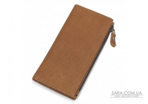 Портмоне мужское коричневое Tiding Bag t0058