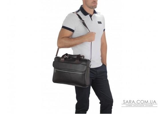 Сумка для ноутбука кожаная мужская Tiding Bag A25-1127C