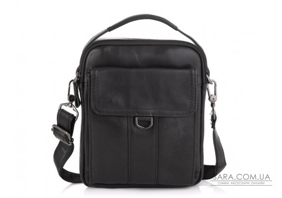 Невелика чоловіча шкіряна сумка через плече Tiding Bag N2-8013A