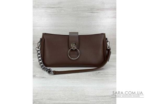 Женская сумка «Эвери» коричневая WeLassie