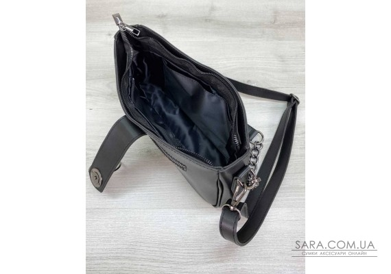 Женская сумка «Эвери» черная WeLassie