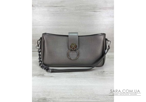 Женская сумка «Эвери» металлик WeLassie