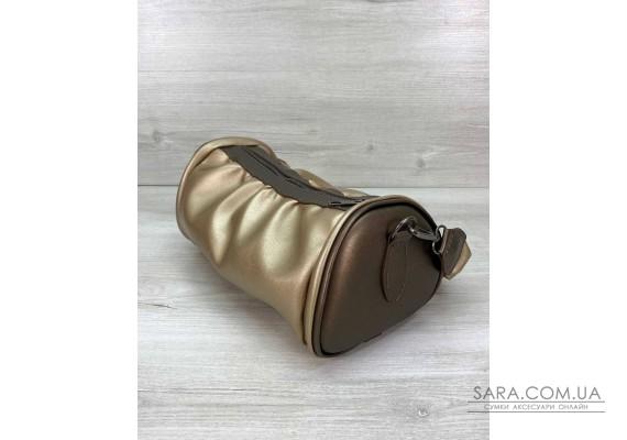 Женская сумка «Lola» золотая WeLassie
