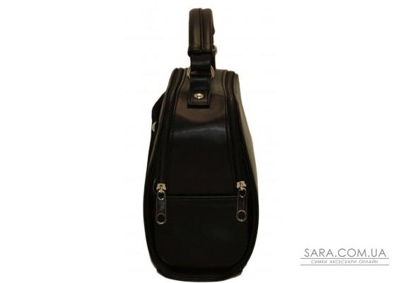 478 сумка черная замш Lucherino