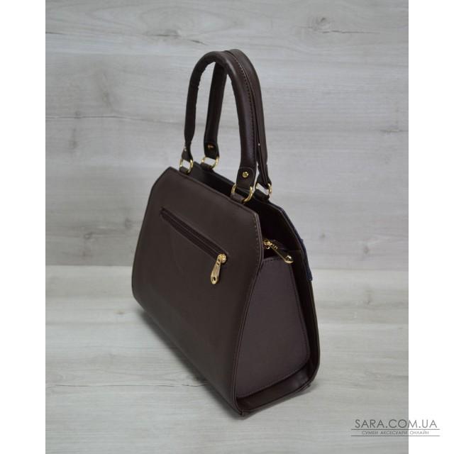 1f867eb7fd29 Купить Женская сумка Конверт коричневая с синей коброй WeLassie ...