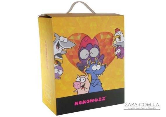 Рюкзак дошкільний KOKONUZZ-GO NUTS з восьминогом помаранчевий