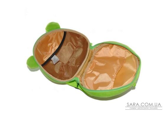 Рюкзак дошкільний SUPERCUTE у вигляді жаби салатовий