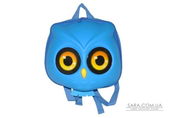 Рюкзак дошкільний SUPERCUTE у вигляді сови блакитний